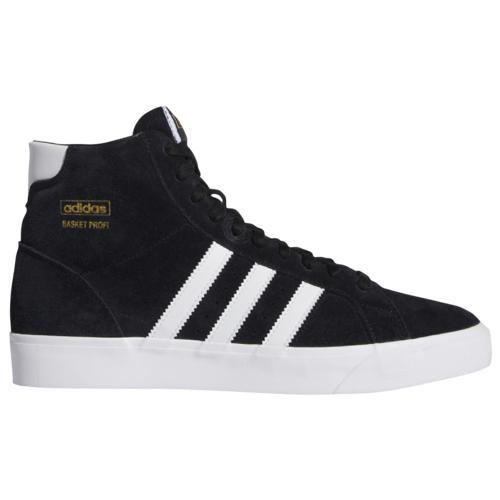 (取寄)アディダス メンズ シューズ オリジナルス バスケット プロフィア Men's Shoes adidas Originals Basket Profi Black White Gold