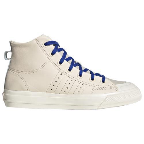 (取寄)アディダス メンズ シューズ オリジナルス ファレル ウィリアムズ ニッツァ RF ハイ Men's Shoes adidas Originals Pharrell Williams Nizza RF Hi Ecru Tint Cream White Clear Brown