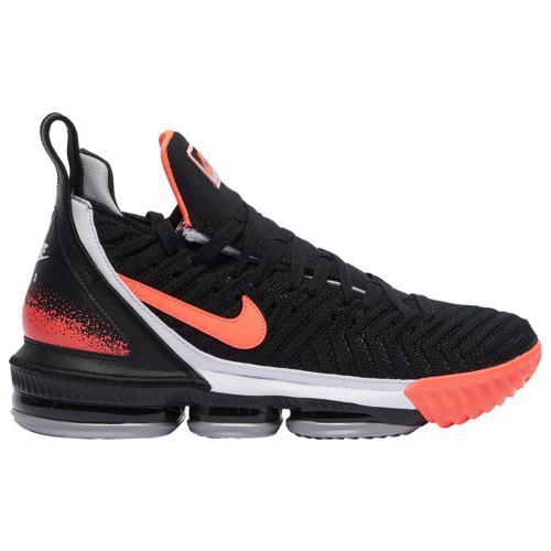 【クーポンで最大2000円OFF】(取寄)ナイキ メンズ シューズ レブロン 16 Nike Men's Shoes LeBron 16 Black Hot Lava Silver