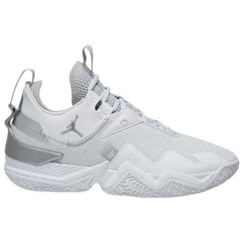 (取寄)ジョーダン メンズ シューズ ワン テイク Jordan Men's Shoes One Take White Metallic Silver