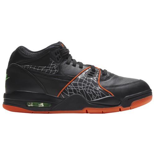 【クーポンで最大2000円OFF】(取寄)ナイキ メンズ シューズ フライト 89 Nike Men's Shoes Flight 89 Black Orange Blaze Green Strike White