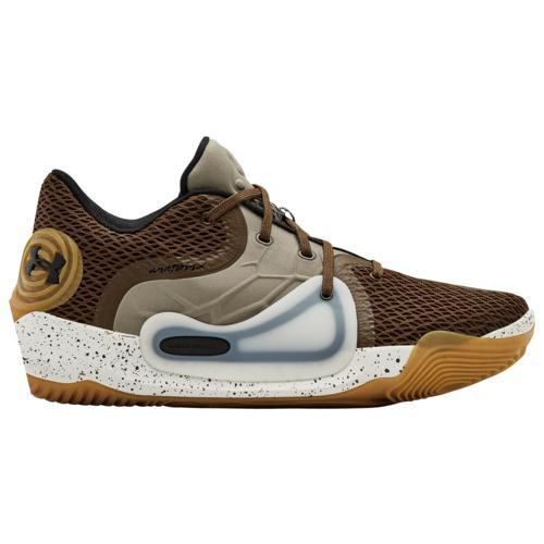 【クーポンで最大2000円OFF】(取寄)アンダーアーマー メンズ シューズ アナトミックス スポーン 2 Underarmour Men's Shoes Anatomix Spawn 2 Exo Brown Onyx White Black