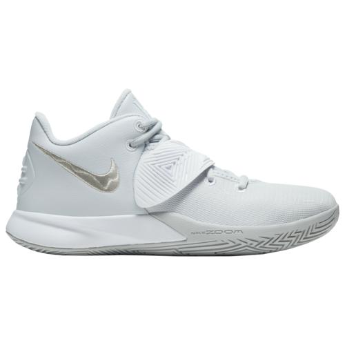 【クーポンで最大2000円OFF】(取寄)ナイキ メンズ シューズ カイリー フライトリップ 3 Nike Men's Shoes Kyrie Flytrap 3 Pure Platinum Metallic Silver White