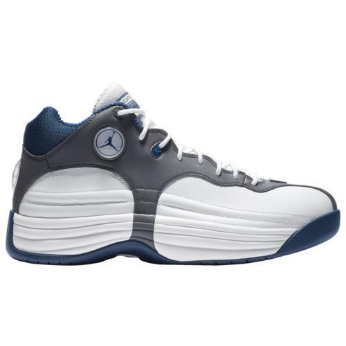 (取寄)ジョーダン メンズ シューズ ジャンプマン チーム 1 Jordan Men's Shoes Jumpman Team 1 White French Blue Flint Grey