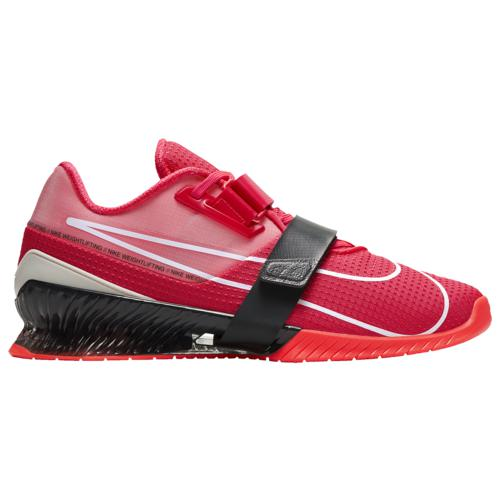 (取寄)ナイキ メンズ シューズ ロマレオス 4 Nike Men's Shoes Romaleos 4 Laser Crimson Spruce Aura Dark Smoke Grey