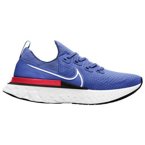 【クーポンで最大2000円OFF】(取寄)ナイキ メンズ シューズ リアクト インフィニティ ラン フライニット Nike Men's Shoes React Infinity Run Flyknit Racer Blue White Bright Crimson Black