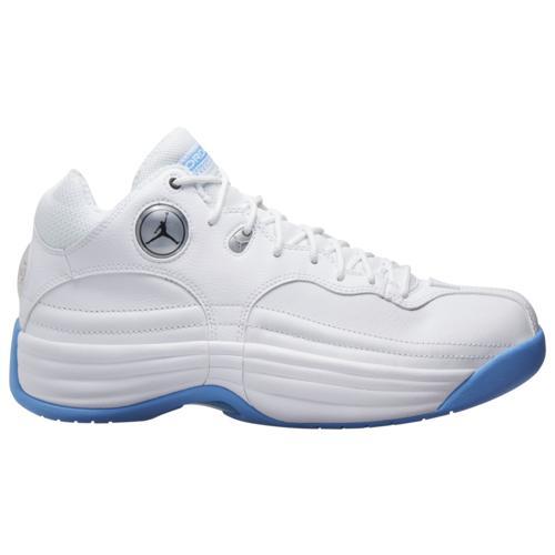(取寄)ジョーダン メンズ シューズ ジャンプマン チーム 1 Jordan Men's Shoes Jumpman Team 1 White Black University Blue Wolf Grey
