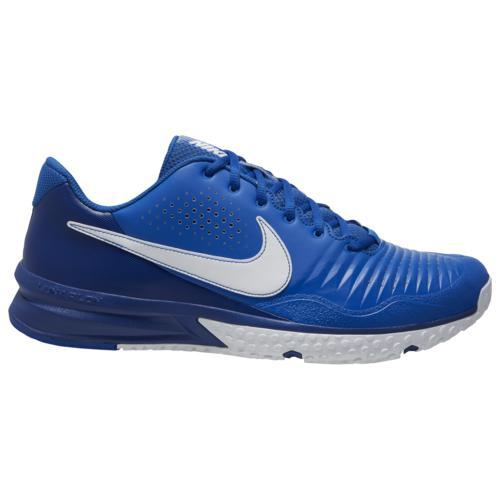 【クーポンで最大2000円OFF】(取寄)ナイキ メンズ シューズ アルファ ハラチ 3 バーシティ ターフ Nike Men's Shoes Alpha Huarache 3 Varsity Turf Game Royal White Deep Royal Blue