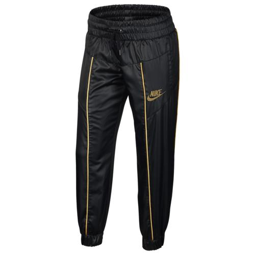 NIKE ナイキ ウェア ファッション ブランド (取寄)ナイキ ガールズ 女の子 グラム ダンク トラック パンツ - ガールズ グレード スクール Nike Girls Glam Dunk Track Pants - Girls' Grade School Black Club Gold Metallic Gold 送料無料