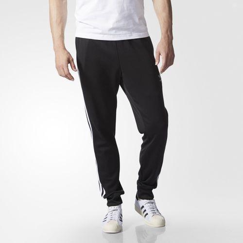 super popular f28b0 3e4bc Adidas track pants originals Jersey men s superstar Black Black adidas  originals Men s Superstar Cuffed Track Pants Black 02P05Nov16