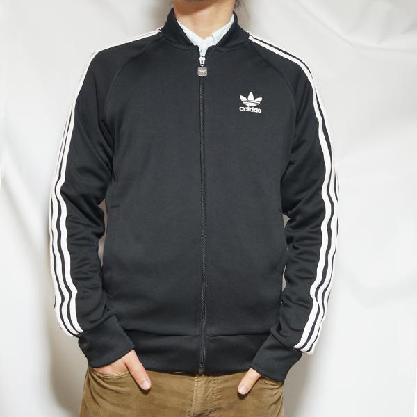 アディダス トラックジャケット 黒 オリジナルス メンズ スーパースター トラックジャケット adidas ORIGINALS Men's Superstar Track Jacket Black BK5921