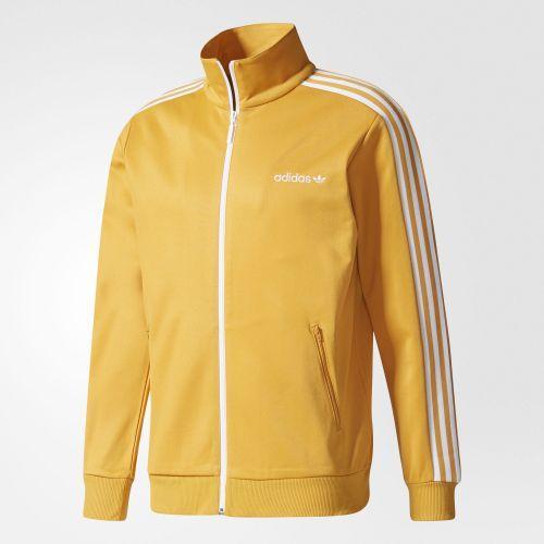アディダス オリジナルス メンズ ベッケンバウアー トラック ジャケット adidas originals Men's Beckenbauer Track Jacket Yellow