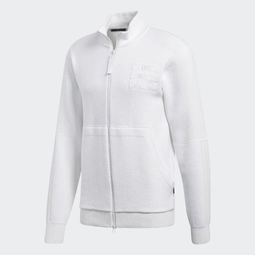 (取寄)アディダス オリジナルス メンズ ファレル ウィリアムズ Hu Holi トラック ジャケット adidas originals Men's Pharrell Williams Hu Holi Track Jacket Off White / White