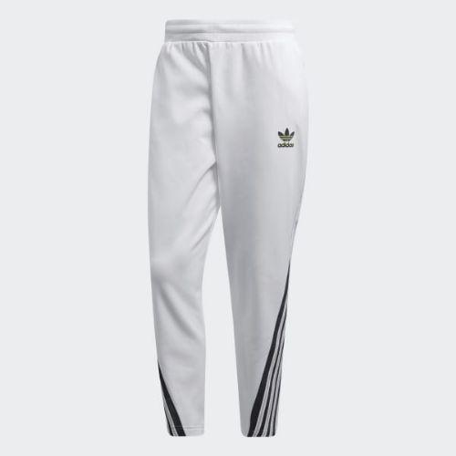 (取寄)アディダス オリジナルス メンズ BR-8トラック パンツ adidas originals Men's BR-8 Track Pants White / Solar Yellow