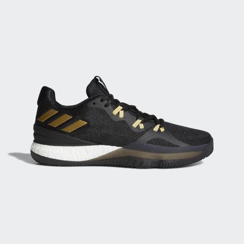 (取寄)アディダス メンズ クレイジーライト ブースト 2018 バスケットボールシューズ adidas Men's Crazylight Boost 2018 Shoes Core Black / Metallic Gold