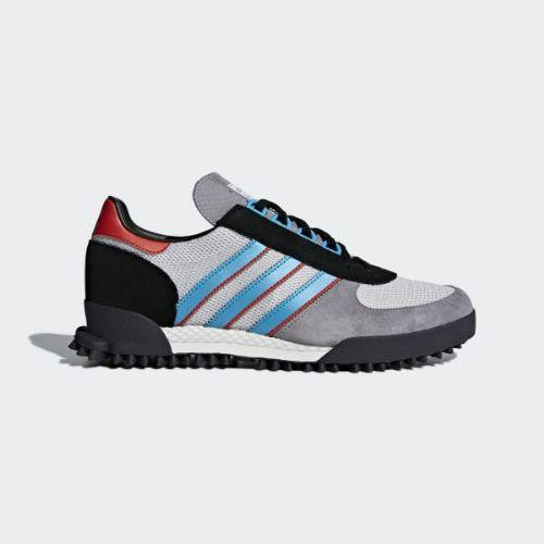 (取寄)アディダス オリジナルス メンズ マラソン TR シューズ adidas originals Men's Marathon TR Shoes Grey / Chalk White / Core Black