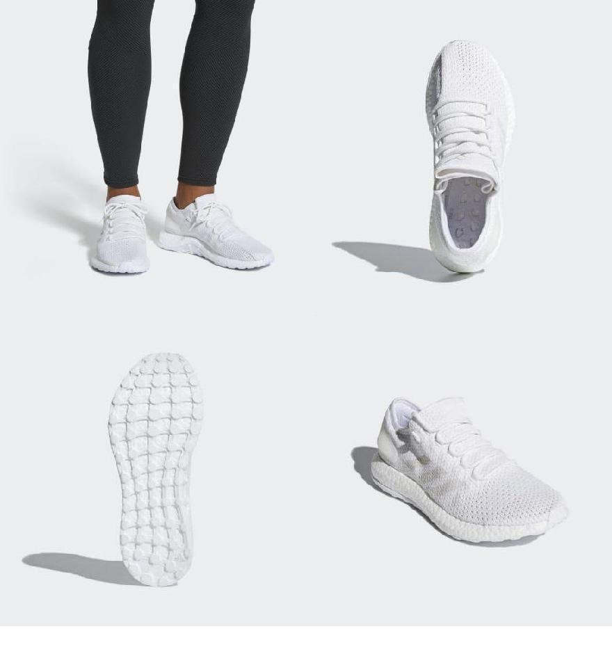70f3c52da6e メンズ ピュアブースト クライマ ランニングシューズ adidas Men s Pureboost Clima Shoes Cloud White    Grey   Crystal White (取寄)アディダス-メンズシューズ ...