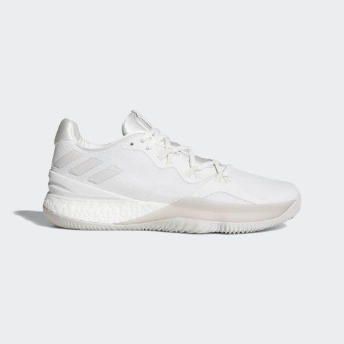 (取寄)アディダス メンズ クレイジーライト ブースト 2018 バスケットボールシューズ adidas Men's Crazylight Boost 2018 Shoes Crystal White / Chalk Pearl / Running White
