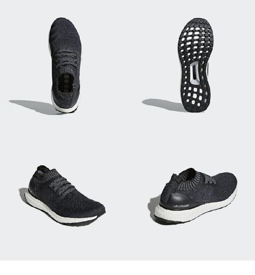 promo code 7c720 2a96c (order) Adidas Lady s ultra boost Ann caged running shoes adidas Women Ultraboost  Uncaged Shoes Carbon   Core Black   Grey