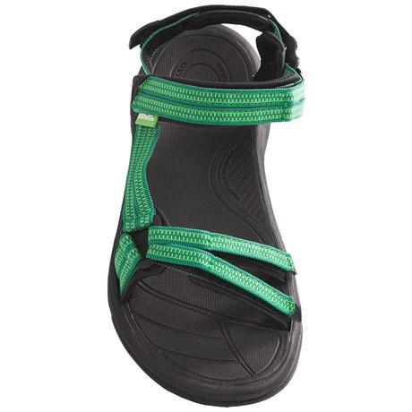 (Get CDN) Teva women's Terra Fay Wright Sandals Teva Women Terra Fi Lite Sandals Double Zipper Black