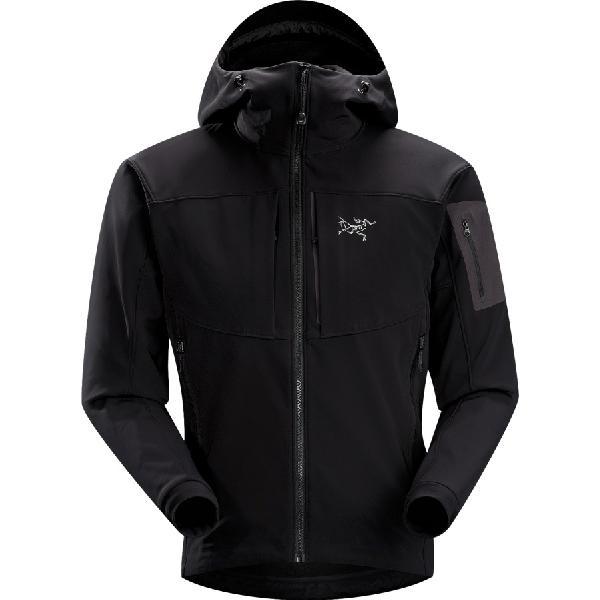 【ハイキング 登山 マウンテン アウトドア】【ウェア アウター】【防水 Waterproof】【大きサイズ ビッグサイズ】 (取寄)アークテリクス メンズ ガマー MX フーディ フーディ Arc'teryx Men's Arc'teryx Gamma MX Hoody Hoodie Blackbird