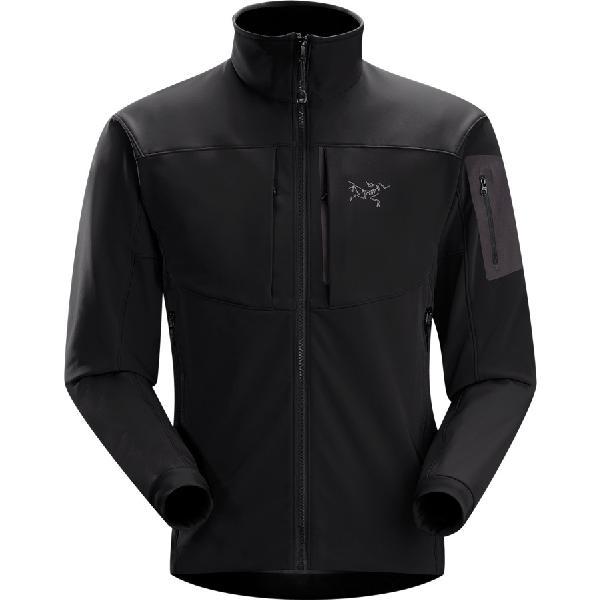 (取寄)アークテリクス メンズ ガマー MX ソフトシェル ジャケット Arc'teryx Men's Arc'teryx Gamma MX Softshell Jacket Blackbird