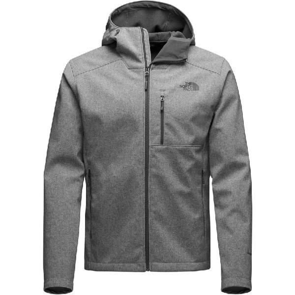 (取寄)ノースフェイス メンズ アペックス バイオニック 2 フーデッド ソフトシェル ジャケット The North Face Men's Apex Bionic 2 Hooded Softshell Jacket Tnf Medium Grey Heather/Tnf Medium Grey Heather