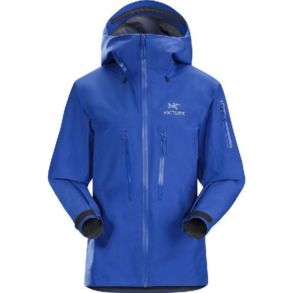 (取寄)アークテリクス レディース アルファ SV ジャケット Arc'teryx Women Alpha SV Jacket Somerset Blue 【コンビニ受取対応商品】