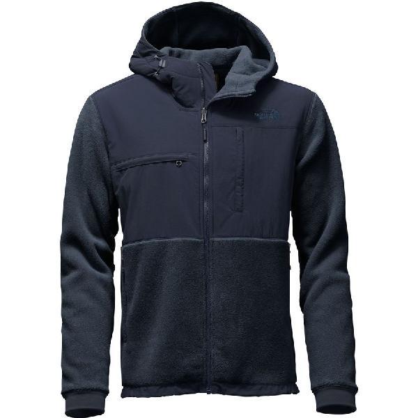 (取寄)ノースフェイス メンズ デナリ 2 フーデッド フリース ジャケット The North Face Men's Denali 2 Hooded Fleece Jacket Recycled Urban Navy/Urban Navy