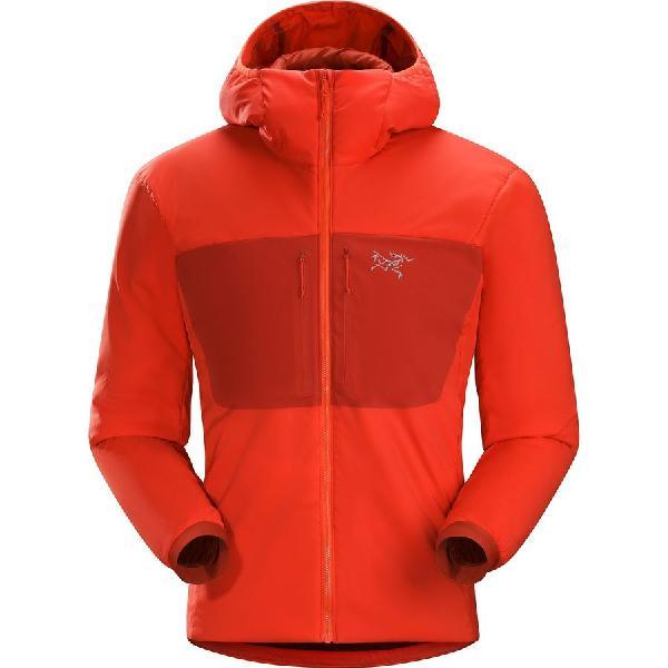 (取寄)アークテリクス メンズ プロトン AR フーデッド インサレーテッド ジャケット Arc'teryx Men's Proton AR Hooded Insulated Jacket Cardinal