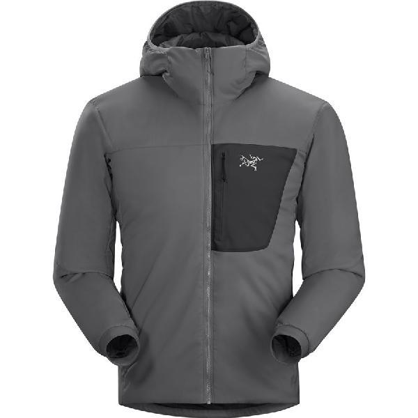(取寄)アークテリクス メンズ プロトン LT フーデッド インサレーテッド ジャケット Arc'teryx Men's Proton LT Hooded Insulated Jacket Graphite 【コンビニ受取対応商品】