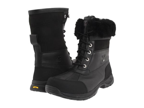 (取寄)アグ ボア ブーツ メンズ ビュート UGG Men's Butte Black Leather