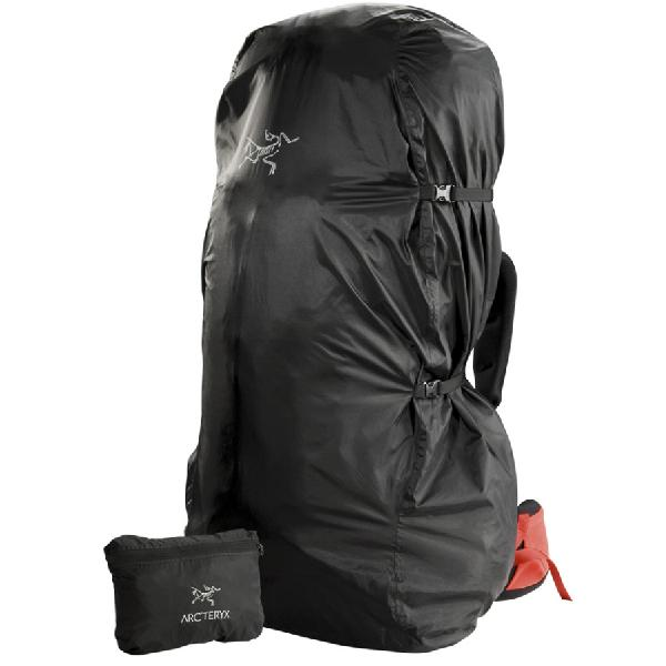 【エントリーでポイント5倍】(取寄)アークテリクス シェルター パック ザックカバー Arc'teryx Shelter Pack Black 【コンビニ受取対応商品】