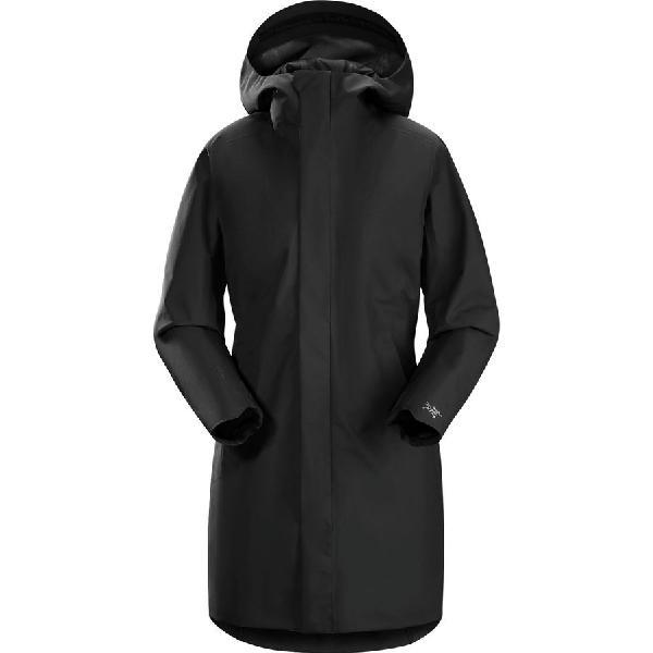 【ハイキング 登山 マウンテン アウトドア】【ウェア アウター】【山ガール ファッション ブランド】【大きいサイズ ビッグサイズ】 (取寄)アークテリクス レディース コデッタ コート Arc'teryx Women Codetta Coat Black