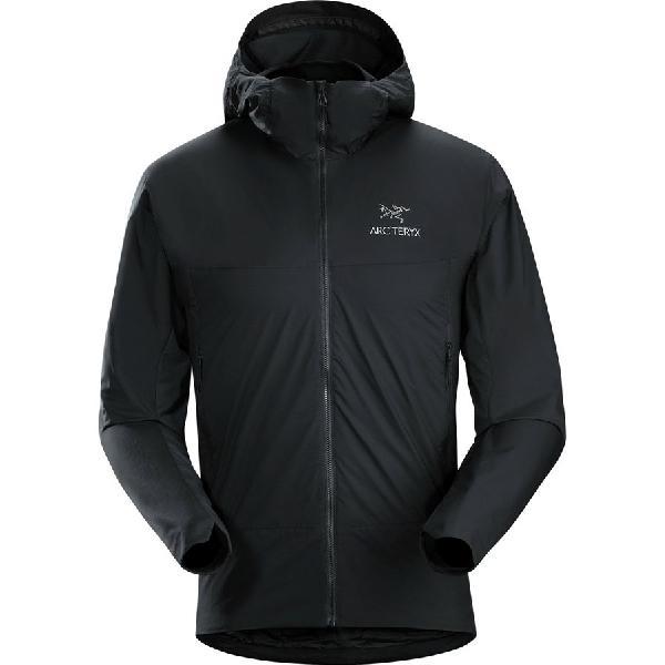 (取寄)アークテリクス メンズ アトム SL フーデッド インサレーテッド ジャケット Arc'teryx Men's Atom SL Hooded Insulated Jacket Black