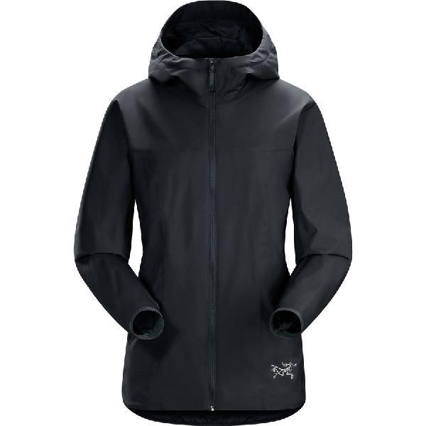 【ハイキング 登山 マウンテン アウトドア】【ウェア アウター】【山ガール ファッション ブランド】【大きいサイズ ビッグサイズ】 (取寄)アークテリクス レディース ソラノ ジャケット Arc'teryx Women Solano Jacket Black Sapphire