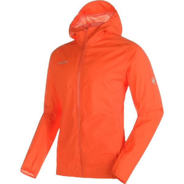 (取寄)マムート メンズ レインスピード HS ジャケット Mammut Men's Rainspeed HS Jacket Dark Orange