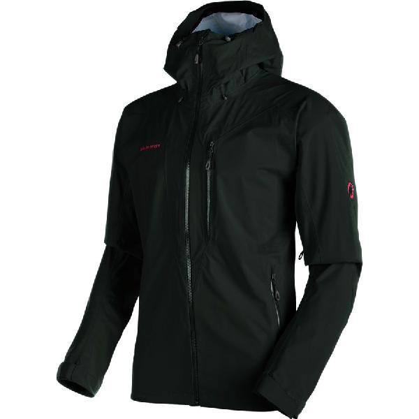 (取寄)マムート メンズ ケント HS フーデッド ジャケット Mammut Men's Kento HS Hooded Jacket Black