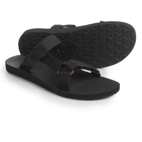 e28174d8ed7fc2 TEVA Teva men s universal slide sandals black Teva Men s Universal Slide  Sandals Black