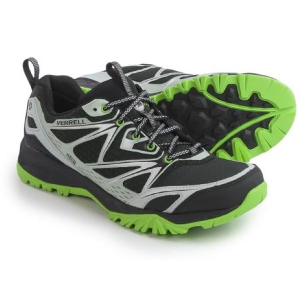 (取寄)メレル メンズ キャプラ ボルト ハイキング シューズ Merrell Men's Capra Bolt Hiking Shoes Black/Silver
