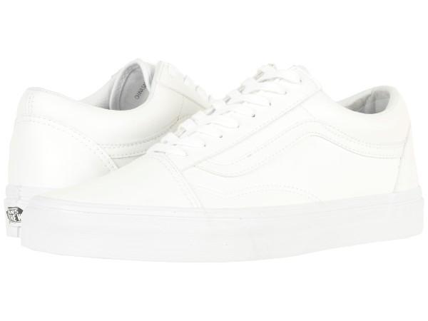 (取寄)Vans(バンズ) スニーカー オールド スクール ユニセックス メンズ レディース Vans Unisex Old Skool (Classic Tumble) True White