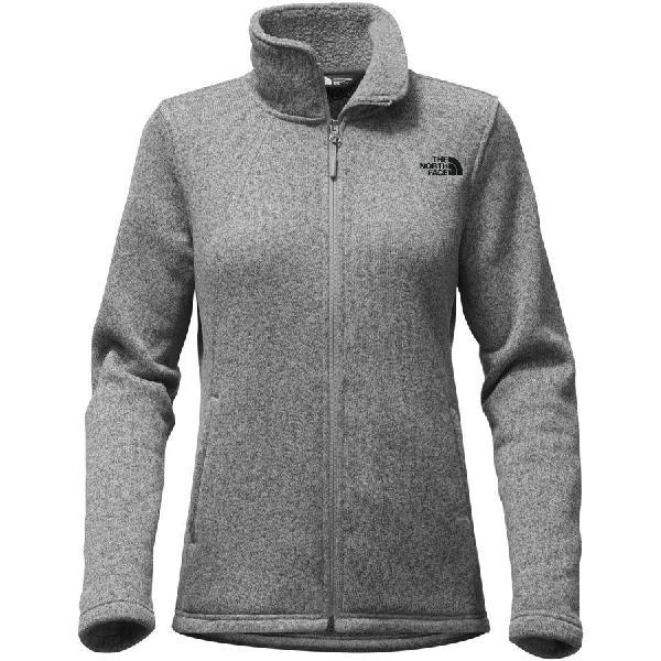 (取寄)ノースフェイス レディース クレセント フリース ジャケット The North Face Women Crescent Fleece Jacket Tnf Medium Grey Heather