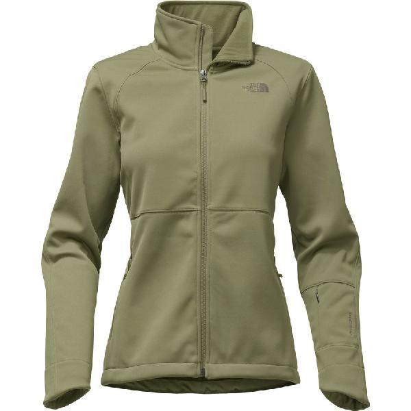 (取寄)ノースフェイス レディース アペックス リソル ソフトシェル ジャケット The North Face Women Apex Risor Softshell Jacket Burnt Olive Green