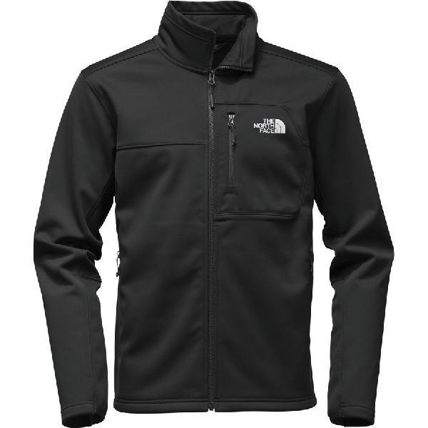 (取寄)ノースフェイス メンズ アペックス リソル ソフトシェル ジャケット The North Face Men's Apex Risor Softshell Jacket Tnf Black/Tnf Black