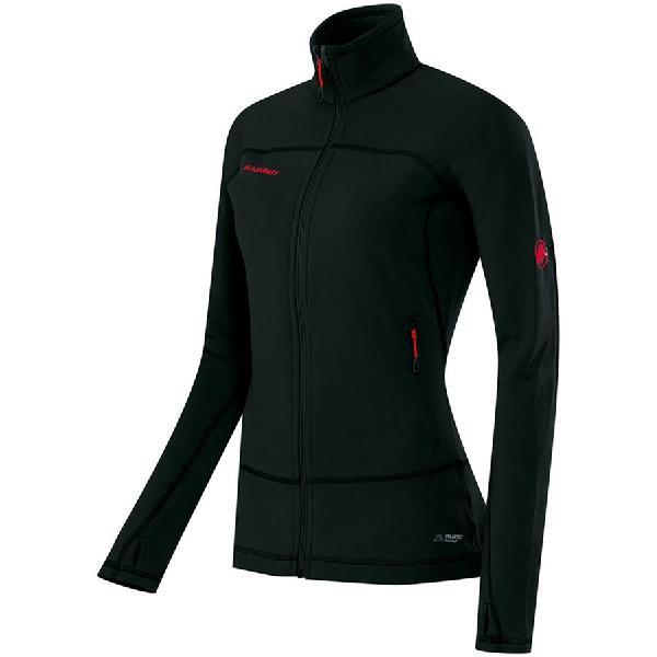 (取寄)マムート レディース キラ プロ ML フリース ジャケット Mammut Women Kira Pro ML Fleece Jacket Black