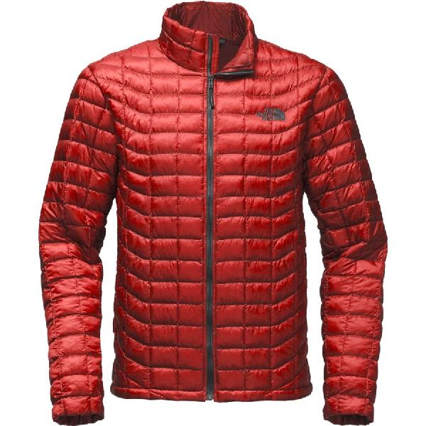 (取寄)ノースフェイス メンズ ThermoBall インサレーテッド ジャケット The North Face Men's ThermoBall Insulated Jacket Cardinal Red