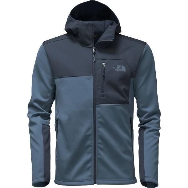 (取寄)ノースフェイス メンズ アペックス リソル フーデッド ソフトシェル ジャケット The North Face Men's Apex Risor Hooded Softshell Jacket Shady Blue/Urban Navy
