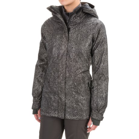 (取寄)マウンテンハードウェア レディース バック フォー モア スキー ジャケット Mountain Hardwear Women Back for More Ski Jacket Black