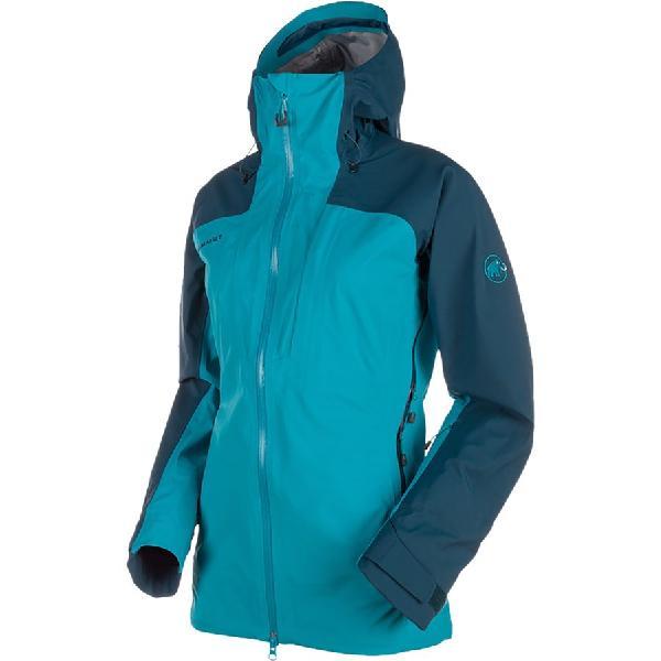(取寄)マムート レディース ルイナ ツアー HS フーデッド ジャケット Mammut Women Luina Tour HS Hooded Jacket Orion/Aqua