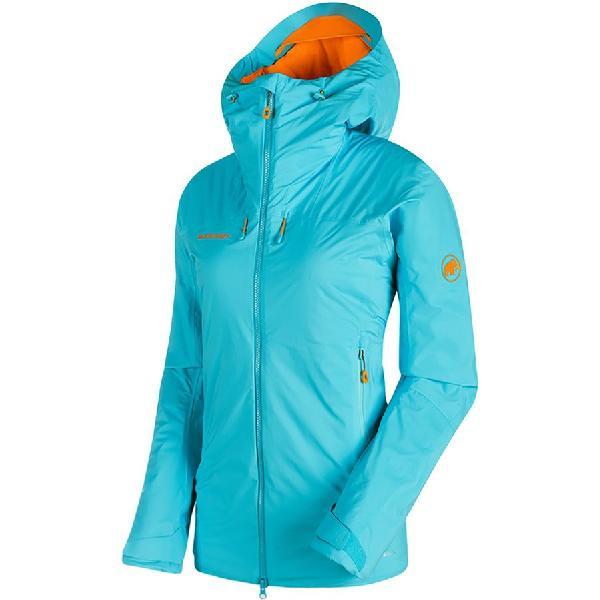 (取寄)マムート レディース ノードワンド HS サーモ フーデッド インサレーテッド ジャケット Mammut Women Nordwand HS Thermo Hooded Insulated Jacket Arctic